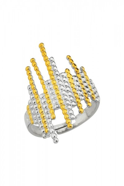 BENDİS - Honeycomb Ring