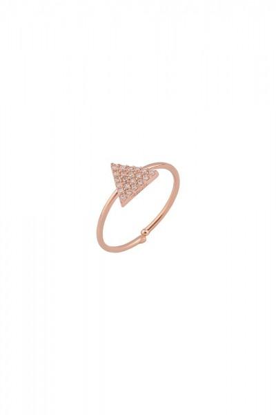 BENDİS - Mini Stone Triangle Ring