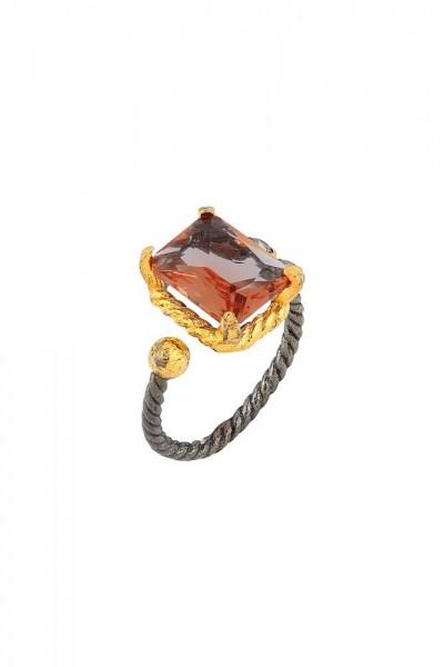 BENDİS - Nature Baguette Ring