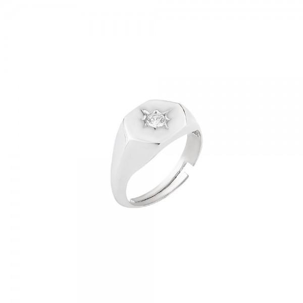 BENDİS - Pentagonal Stone Ring
