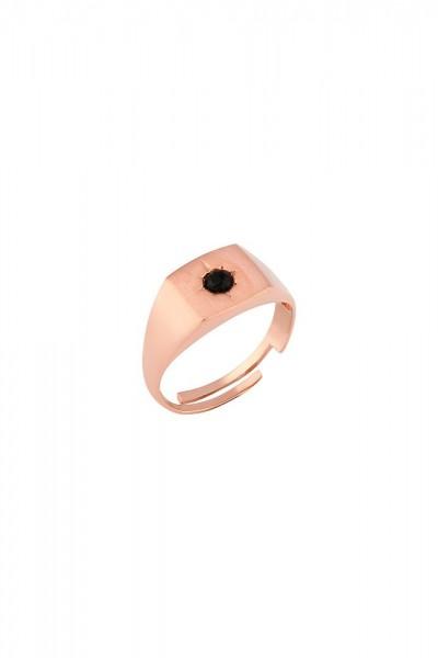 BENDİS - Square Stone Ring