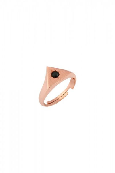 BENDİS - Triangle Stone Ring